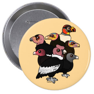 New World Vultures Button