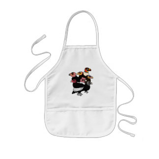 New World Vultures Kids' Apron