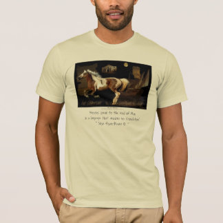 """NEW WORLDE"" Spanish Mustang Horse-lover T-shirts"