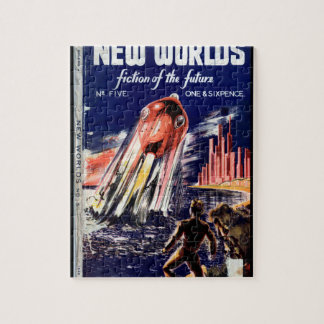 New Worlds 005 (1949.Nova)_Pulp Art Jigsaw Puzzle