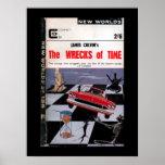 New Worlds 156 (1965-11.Roberts&Vinter)_Pulp Art Poster