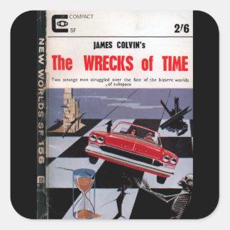 New Worlds 156 (1965-11.Roberts&Vinter)_Pulp Art Square Sticker