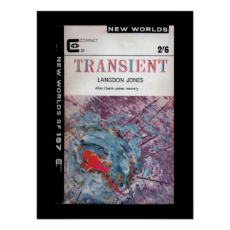 New Worlds 157 (1965-12.Roberts&Vinter)_Pulp Art Poster