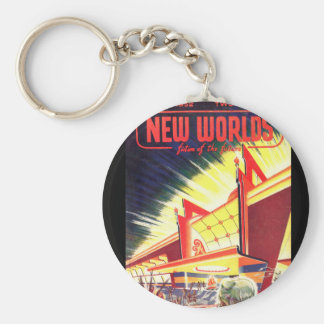 New Worlds 1952_Pulp Art Keychain
