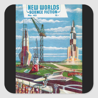 New Worlds 40 Square Sticker