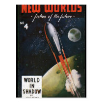 New Worlds 4_Pulp Art Postcard