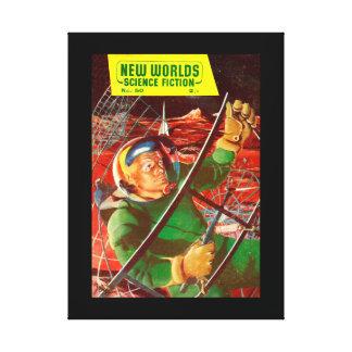 New Worlds 50_Pulp Art Canvas Print