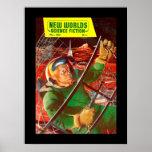 New Worlds 50_Pulp Art Poster