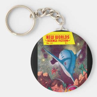 New Worlds 51_Pulp Art Keychain