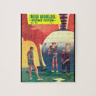 New Worlds 54_Pulp Art Jigsaw Puzzle
