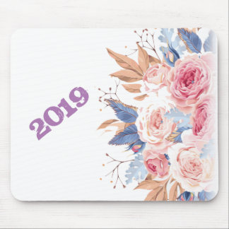 new year2019 mouse pad
