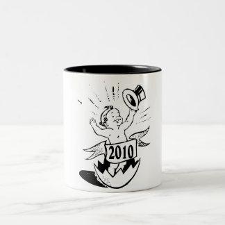 New Year 2010 Baby Coffee Mugs