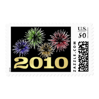 New Year 2010 - Holiday Postage Stamps