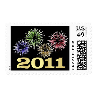 New Year 2011 - Holiday Postage Stamps