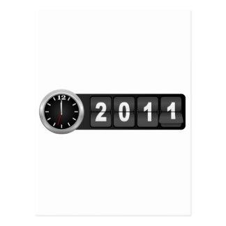 New Year 2011 Postcard