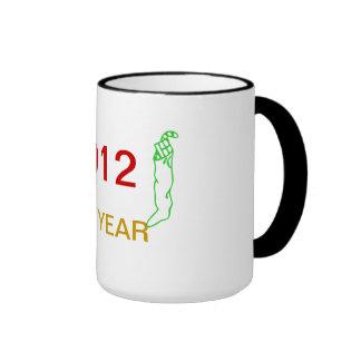 New Year 2012 Ringer Mug
