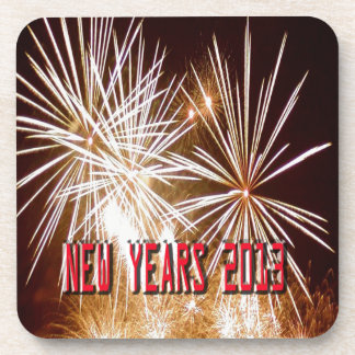 New year 2013 beverage coaster