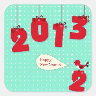 "New Year 2013 ""New Year's"" Goodbye 2012 Sticker"
