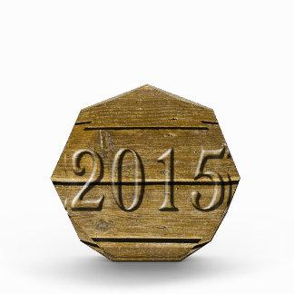 New year 2015 Customize Award