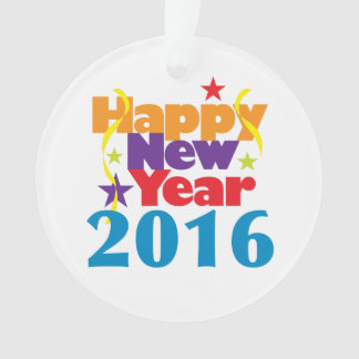New Year 2016 Ornament