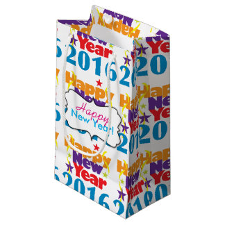 New Year 2016 Small Gift Bag