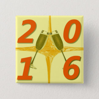 New Year 2016 Toast Button