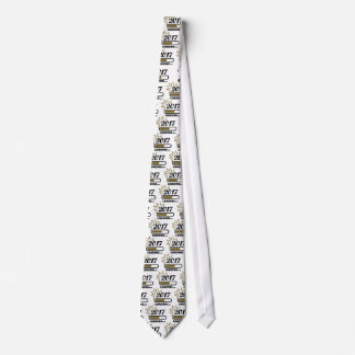 New year 2017 loading neck tie