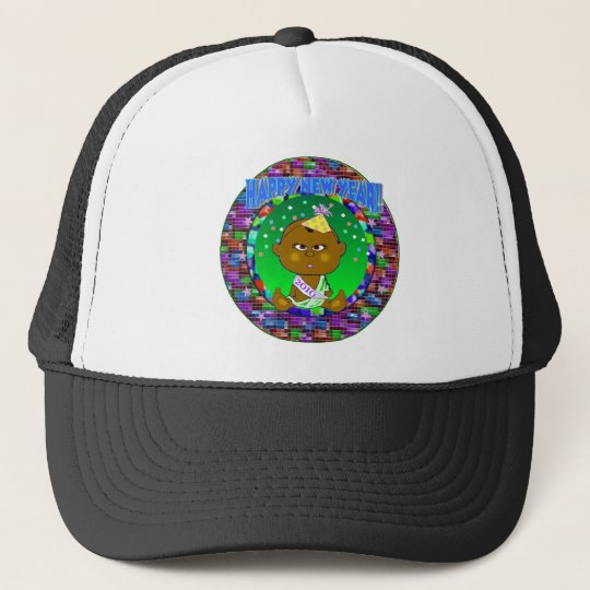 New Year African Trucker Hat