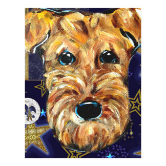 NEW YEAR AIREDALE LETTERHEAD