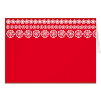 New Year and Christmas greeting cart Card