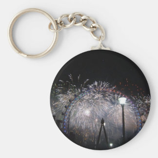 New Year at the London Eye Keychains