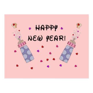 New Year Baby Postcard