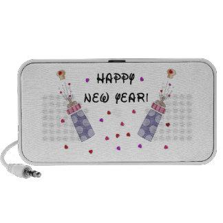 New Year Baby PC Speakers
