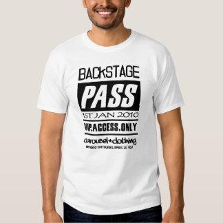 New Year Backstage PASS T Shirt