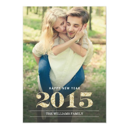 New Year Cards   2015 Custom Invitations