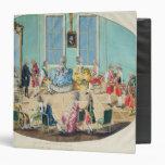 New Year celebration in Vienna in 1782, 1783 Binders