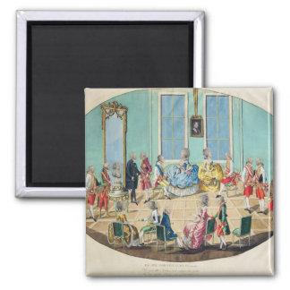 New Year celebration in Vienna in 1782, 1783 Magnet