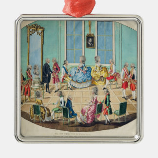 New Year celebration in Vienna in 1782, 1783 Metal Ornament