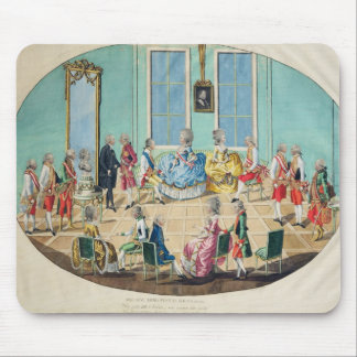 New Year celebration in Vienna in 1782, 1783 Mouse Pad
