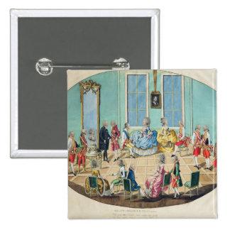 New Year celebration in Vienna in 1782, 1783 Pinback Button