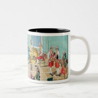 New Year celebration in Vienna in 1782, 1783 Two-Tone Coffee Mug