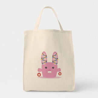 New year / Christmas bunny Canvas Bags
