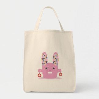 New year / Christmas bunny Tote Bag