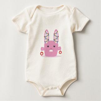 New year / Christmas bunny Baby Creeper