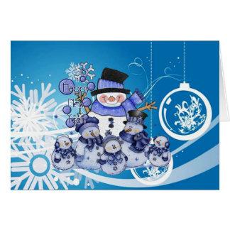 new year&christmas greeting card