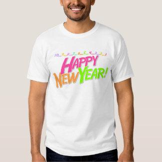 New Year Countdown Tee Shirt