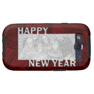 New Year Cut Out Photo Frame Galaxy S3 Case