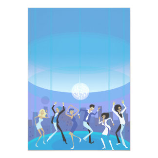 New Year Dance Party Card