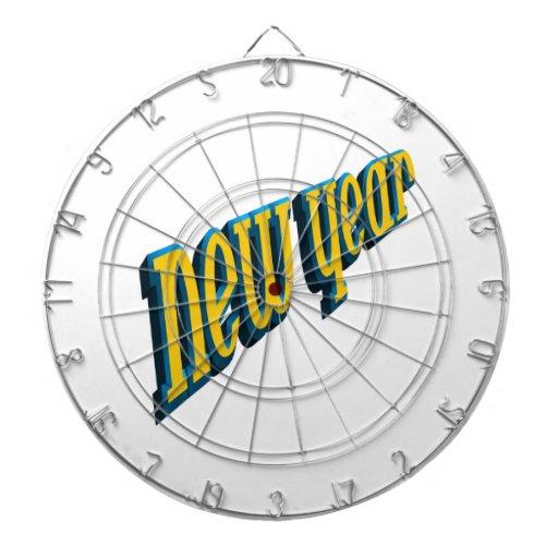 New Year Dartboard