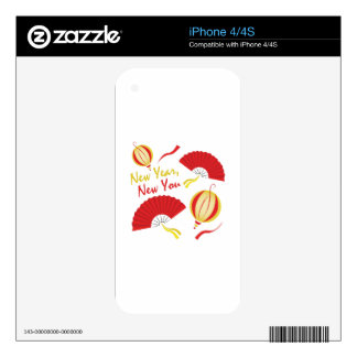 New Year Decal For iPhone 4